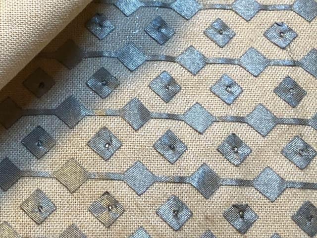 ڈارٹ ماؤتھ کالج اس کے اوپر رکھی اشیا شناخت کرنے والا اسمارٹ کپڑا تیار کیا ہے۔  فوٹو: ڈارٹ ماؤتھ کالج