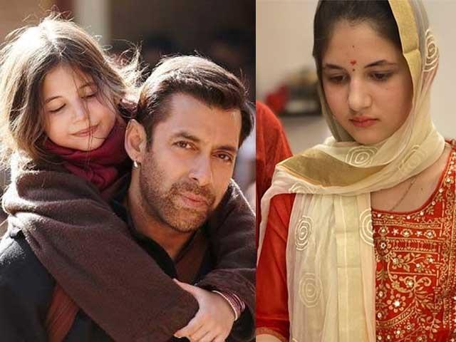 ہرشالی ملہوترا نے فلم میں ایک گونگی بہری لڑکی کا کردار ادا کیا تھا  فوٹوسوشل میڈیا