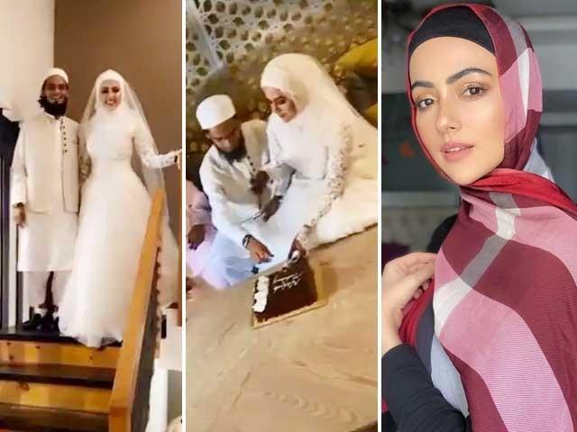 اداکارہ نے گزشتہ ماہ سوشل میڈیا پر ایک طویل پوسٹ میں اسلام کی طرف راغب ہوتے ہوئے شوبز چھوڑنے کا اعلان کیا تھا (فوٹو : فائل)