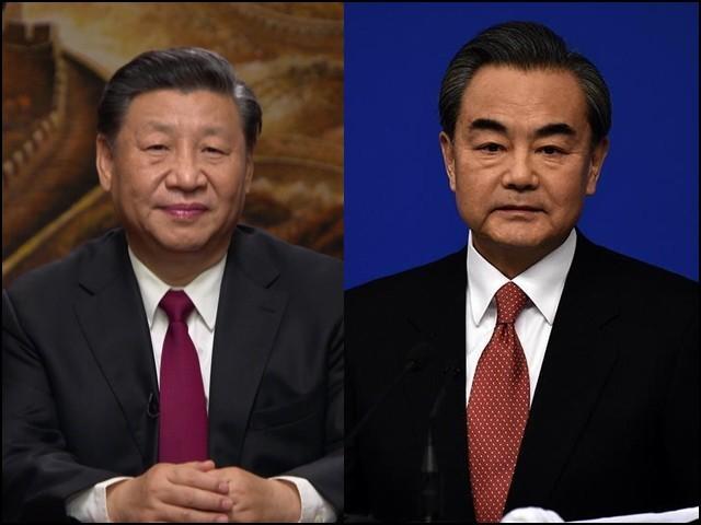 چینی وزیر خارجہ وانگ ای اور کی چینی صدر شی جن پھنگ میں حالیہ تین اہم سربراہی کانفرنسوں میں شرکت کے حوالے سے گفتگو ہوئی ہے