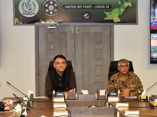 کورونا وائرس کراچی، حیدرآباد، لاہور، پشاور اور راولپنڈی میں تیزی سے پھیل رہاہے، این سی او سی۔ فوٹو: فائل