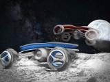 برطانوی طلباوطالبات کی تیارکردہ ریسنگ گاڑیوں کا پہلا مقابلہ اگلے سال چاند پر ہوگا۔ فوٹو: ڈیلی میل