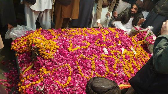 Khadim Hussain Rizvi janaza 2