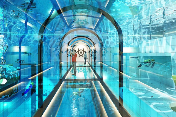 world deepest Swimming pool 1