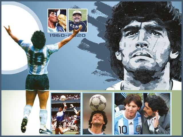 جب تک فٹ بال کا کھیل زندہ ہے، میراڈونا کا نام زندہ رہے گا