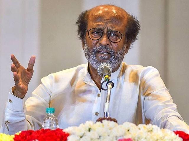 کرپشن سے پاک سیاسی جماعت بناکر تامل  لوگوں کیلیے اپنی زندگی وقف کرنا چاہتا ہوں، رجنی کانت
