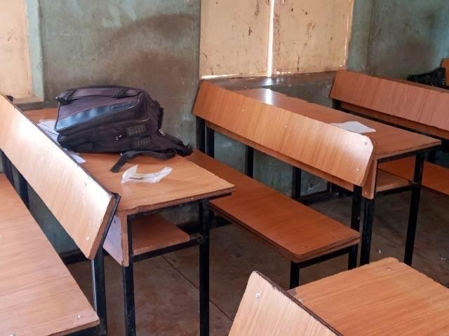 نائیجیریا میں اس سے قبل بچیوں کے اسکول پر شدت پسند گروہ کے حملے میں 250 سے زائد بچیاں لاپتا ہوگئی تھیں(فوٹو، فائل)