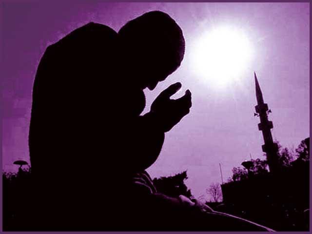 ''اﷲ تعالیٰ سے ڈرو، جس طرح ڈرنے کا حق ہے۔'' فوٹو: فائل