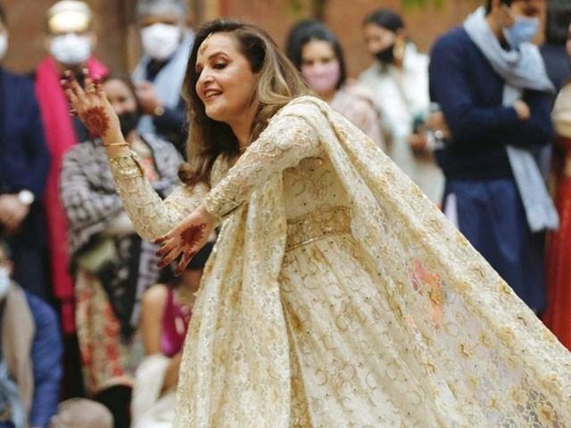 بیٹی کی شادی کی لمحات بہت حسین ہیں ، حنا خواجہ (فوٹو: میڈیا میڈیا)