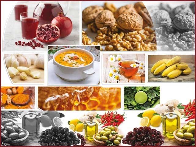بیماری کے دوران ایسی غذاؤں سے پرہیز از حد ضروری ہے جو انسان میں قوت مدافعت کم کرنے کا باعث بنتی ہیں۔ فوٹو: فائل