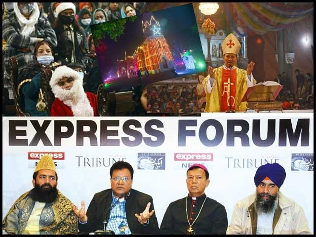 کرسمس امن و محبت کا پیغام دیتا ہے، دنیا میں مذہبی منافرت پھیلانے والوں کا خاتمہ کرنا ہوگا