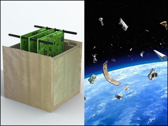 لکڑیوں کے سیارے بڑھتے ہوئے خلائی آلودگی کا مسئلہ حل کرنے میں مددگار ثابت ہوں گے۔  (فوٹو: سومیٹو فارسٹری)