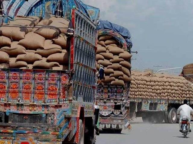 سرکاری گوداموں میں 33 لاکھ ٹن سے زائد گندم ذخائر موجود ہیں جو اپریل میں گندم کی نئی فصل آنے تک ملکی ضروریات کیلئے وافر ہیں(فوٹو، فائل)