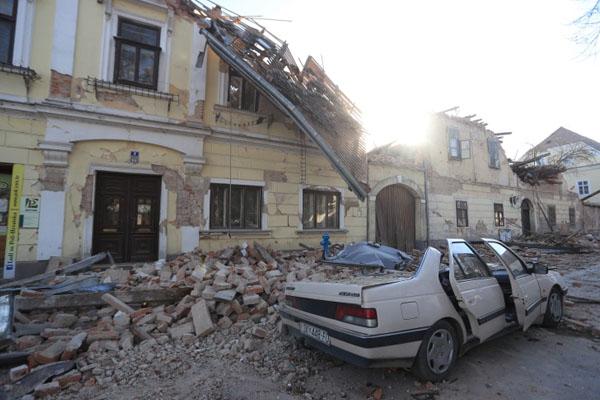 Corotia Earth Quake 1