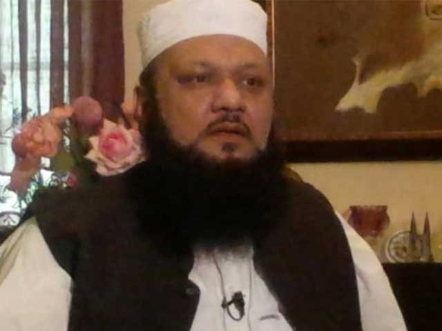فضل الرحمن کا ساتھیوں کیساتھ رویہ سوالیہ نشان ہے، مولانا اجمل قادری فوٹو: فائل