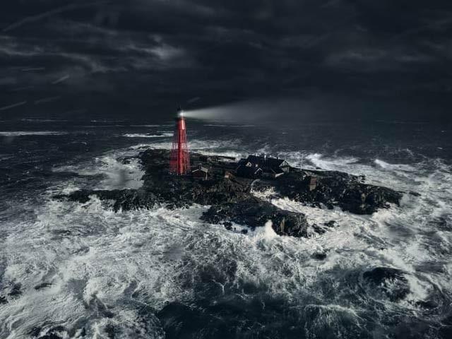 سویڈن میں مشہور فلم میلہ صرف ایک خوش نصیب کے لیے ایک دورافتادہ جزیرے پر منعقد کیا جارہا ہے (فوٹو: سی این این)