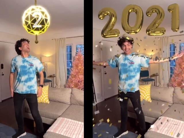 ٹک ٹاک نے نئے سال کے آغاز پر اے آر تھری ڈی ایفیکٹ کا پہلا مظاہرہ کیا ہے (فوٹو: فائل)