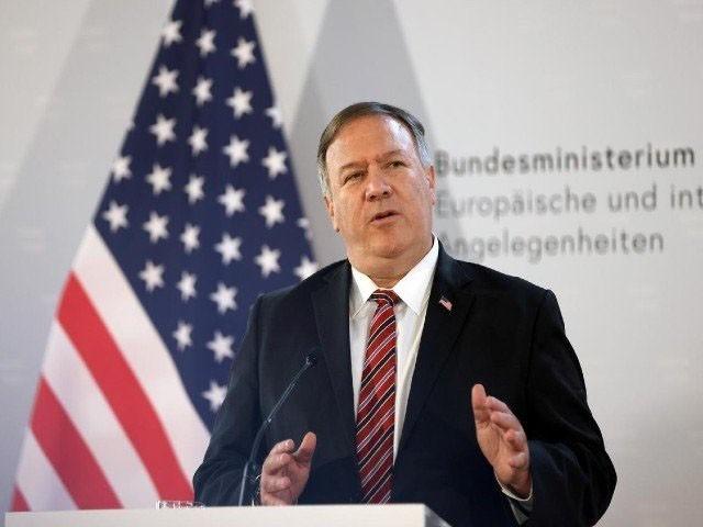 امریکی وزیر خارجہ مائیک پومپیو ان خیالات کا اظہار واشنگٹن میں ایک تقریب سے خطاب میں کیا، فوٹو : فائل