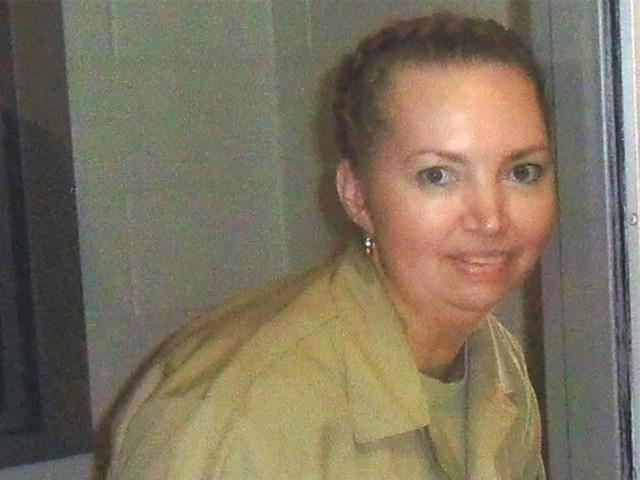 52 سالہ خاتون لیزا مونٹگومیری کو سزائے موت کے طور پر زہر کا انجیکشن لگایا گیا۔ فوٹو : فائل