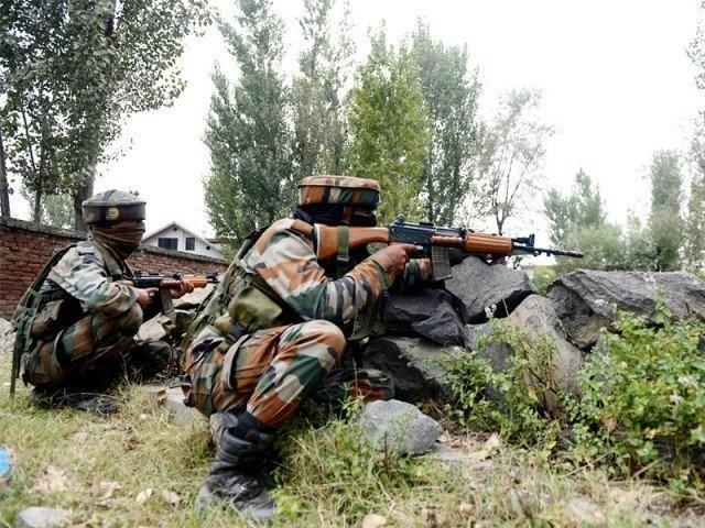 پاک فوج نے بھی اشتعال انگیزی کا بھرپورجواب دیتے ہوئے بھارتی فوج کوبھاری جانی و مالی نقصان پہنچایا ، آئی یس پی آر