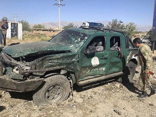 طالبان کے لیے ہمدردی رکھنے والے پولیس اہلکاروں نے فائرنگ سے قبل دستی بم بھی پھینکے، فوٹو : فائل
