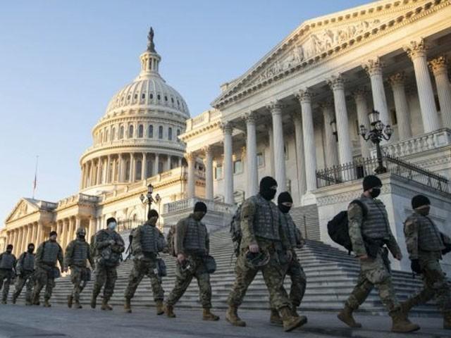 20 ہزار سے زائد فوجی اہلکار تعینات ہوں گے، مائیک پینس ( فوٹو: فائل)