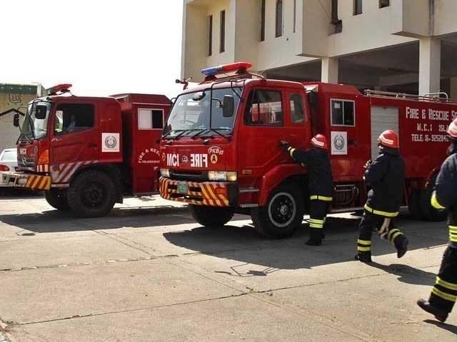 حکام نے فوری طور پر فون نمبر درست کرنے کا مطالبہ کیا ہے تاکہ آگ لگنے کے کسی بھی واقعے کی فوری طور پر اطلاع مل سکے(فوٹو، فائل)