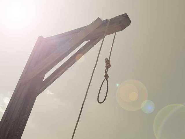 گزشتہ سال سزائے موت پر عمل درآمد میں 85 فیصد کمی آئی(فوٹو، فائل)