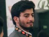 حیات بلوچ کو ایف سی اہلکار شادی اللہ نے اپنی سرکاری بندوق سے گولیاں مار کر قتل کیا تھا۔ فوٹو : فائل