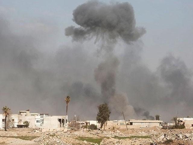 حملے میں جانی نقصان نہیں ہوا تاہم ایک مکان تباہ ہوگیا، فوٹو : فائل