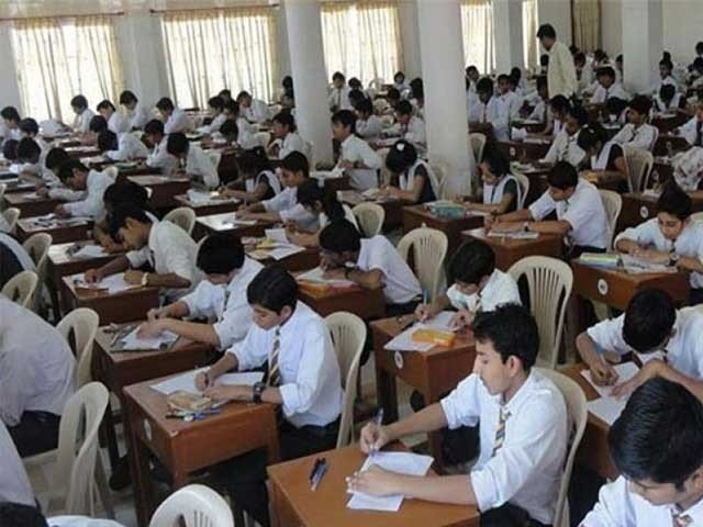 آئندہ تعلیمی سیشن 2 اگست سے اور امتحانات کا دورانیہ 2 گھنٹے کرنے پر بھی اتفاق . فوٹو : فائل