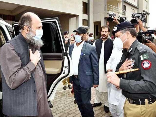بلوچستان کے لوگ مہمان نواز ہیں، خوشگوار یادیں لیکر جا رہا ہوں، محسن حسن بٹ . فوٹو : فائل
