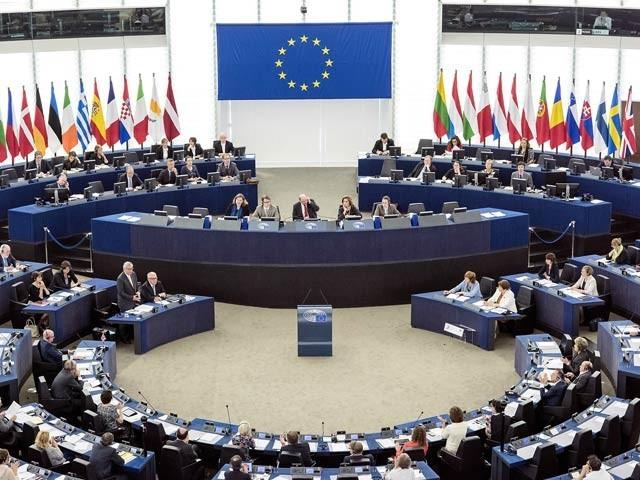 ڈس انفو لیب نے یورپی پارلیمنٹ میں پاکستان کے خلاف بھارتی پراپیگنڈا مہم  کو بے نقاب کردیا (فوٹو، فائل)