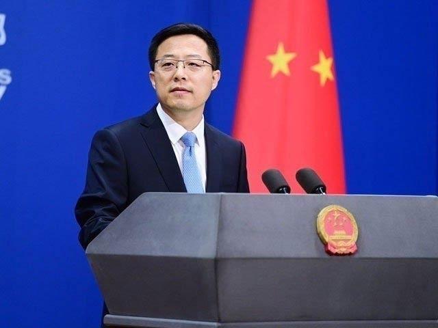 امریکی صدر بائیڈن کے چین سے متعلق حالیہ بیان پر چینی وزارت خارجہ کے ترجمان نے انہیں اپنے پیش رو سے سبق سیکھنے کا مشورہ دیا ہے(فوٹو، فائل)