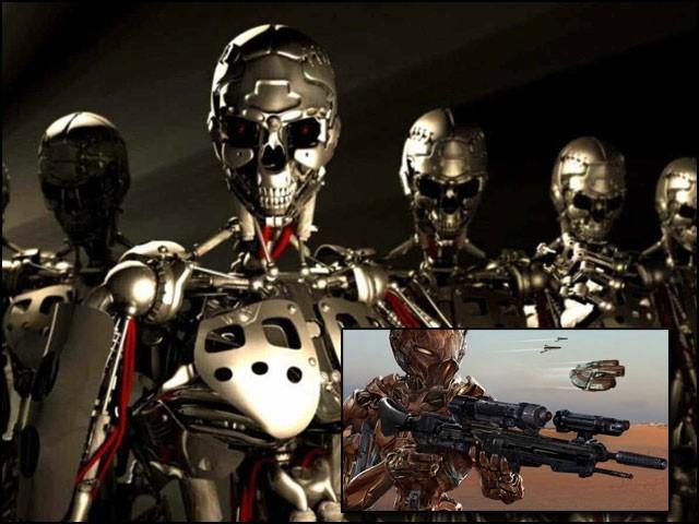 امریکی سرکاری کمیشن 'خودکار و خودمختار فوجی نظام' یعنی 'قاتل روبوٹ' کا پرزور دورہ کیا ہے۔  (فوٹو: انٹرنیٹ)