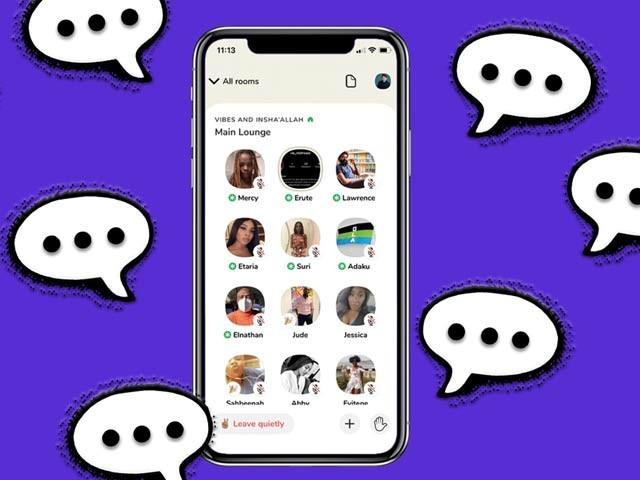 کلب ہاؤس فطری انداز میں گفتگو کرنا ایک ایپ تیزی سے مقبول ہورہی ہے۔  فوٹو: فائل