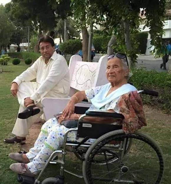 parvez musharraf mother death