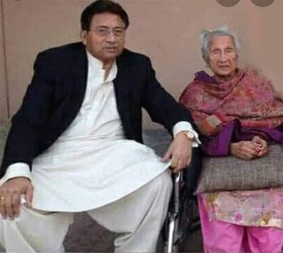 parvez musharraf mother death 2