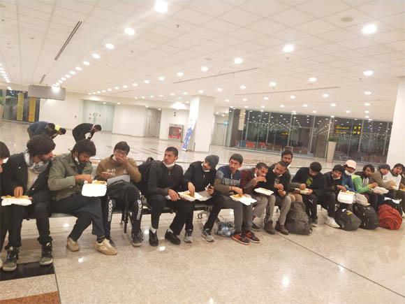 Turkey Deport 40 Pakistani Citizen for illlegal arrived 23 jan 2021 2