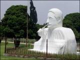 کیا مجسمہ سازی کا یہ کارنامہ مالیوں نے اپنی مدد آپ کے تحت سر انجام دے ڈالا؟ (فوٹو: فائل)