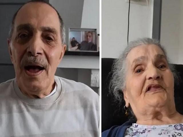 ماں اور بیٹے کی جذباتی ملاقات نے ہر آنکھ کو اشک بار کردیا، فوٹو : ویڈیو گریب