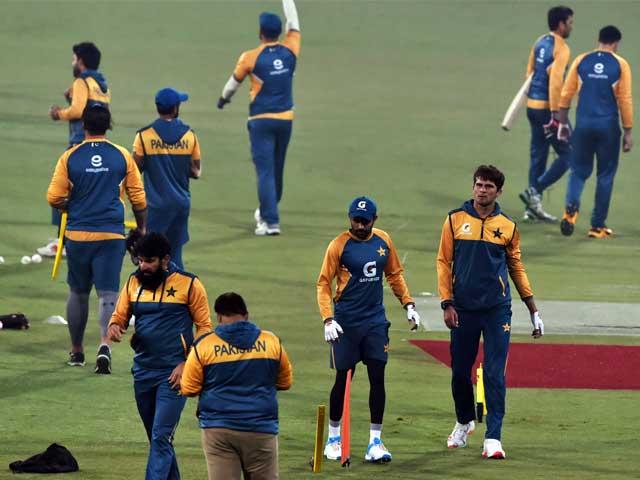 جنوبی افریقی ٹیم میں صرف میلان کو پاکستانی کنڈیشنزمیں کھیلنے کا تجربہ حاصل،کلاسن کا بطور قائد پہلا میچ ۔  فوٹو : اے ایف پی