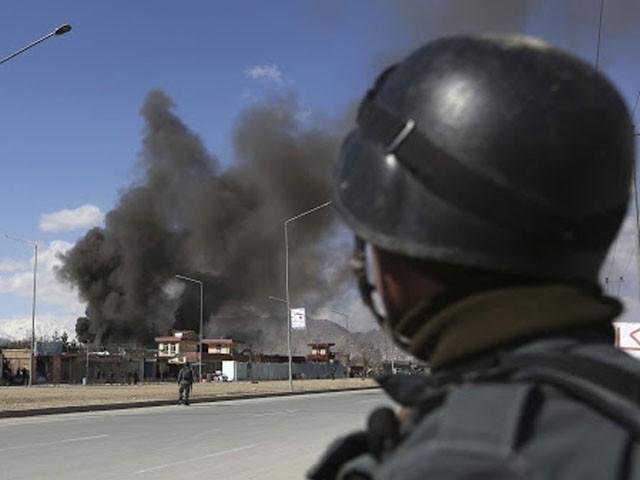 ہلاک ہونے والے اہلکاروں کا تعلق پبلک رائزنگ سیکیورٹی فورس سے ہے، فوٹو : فائل