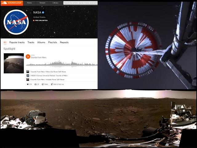 یہ تمام مواد 'ناسا' کی آفیشل ویب سائٹ کے علاوہ یوٹیوب اور ساؤنڈ کلاؤڈ پر بھی جاری کیا گیا ہے۔ (فوٹو: فائل)