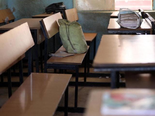 حملے کے بعد کی گئی گنتی میں 300 طالبات کم ہیں، ٹیچر، فوتو : فائل