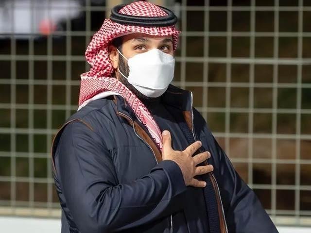 دو روز قبل سعودی ولی عہد کا اپینڈکس کا آپریشن ہوا تھا۔ (فوٹو، العربیہ)