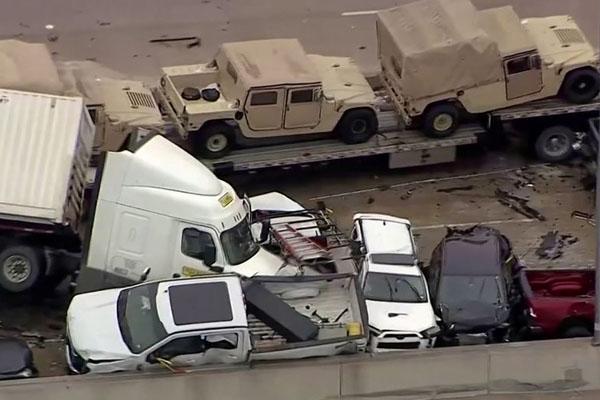 امریکہ میں حادثہ 2