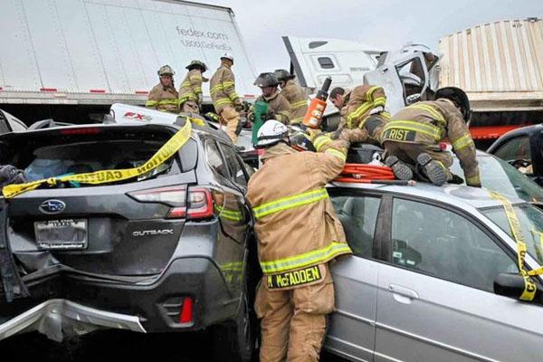امریکہ میں حادثہ 4