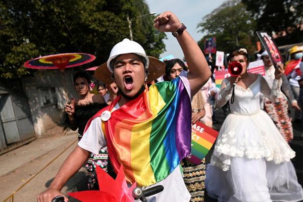 Mayanmar Protests 2