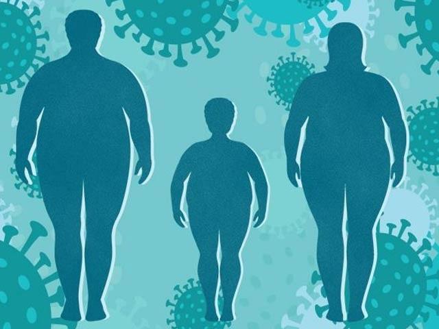 اس وقت دنیا کو کورونا وائرس اور مٹاپے کی وبا کا ایک ساتھ سامنا ہے(فوٹو، انٹرنیٹ)